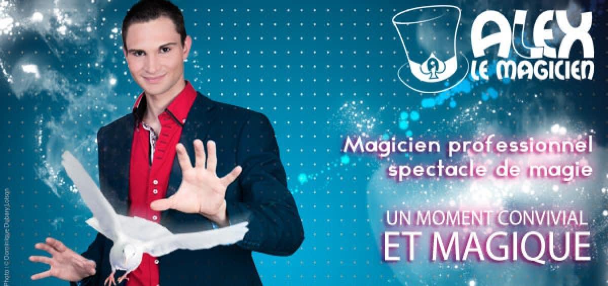 Alex magicien essonne 91 spectacle de magie
