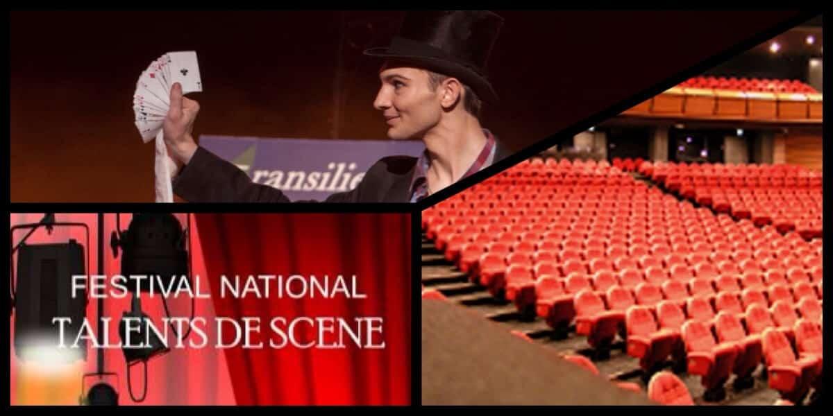 Festival Talents de scène Nevers Alex 1er prix Magie
