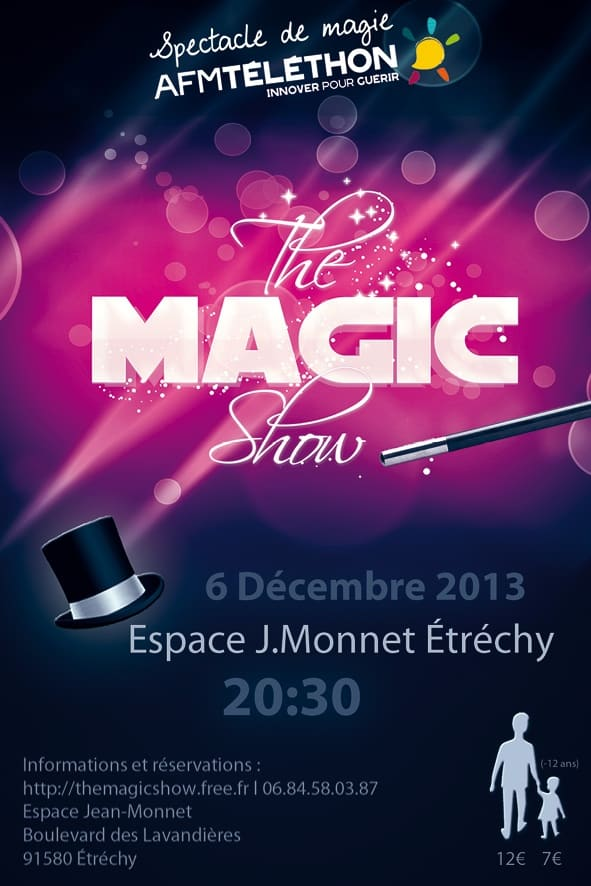 Célèbre Alex le Magicien | The Magic Show | Magie à Étréchy NK42
