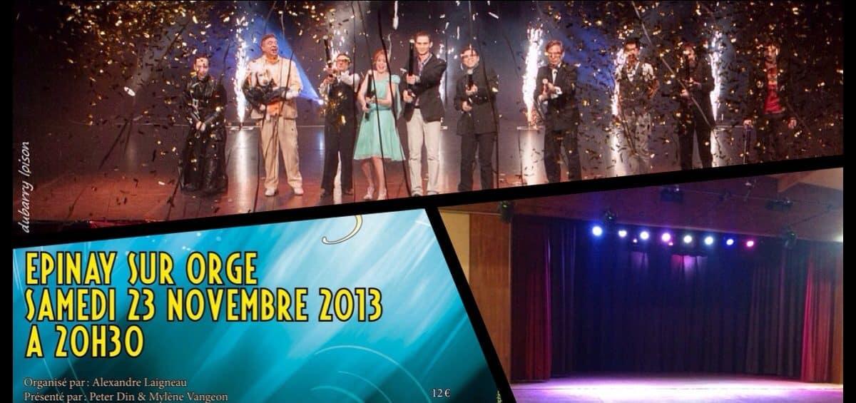 The Magic Show Téléthon - Épinay sur Orge spectacle de magie 2013