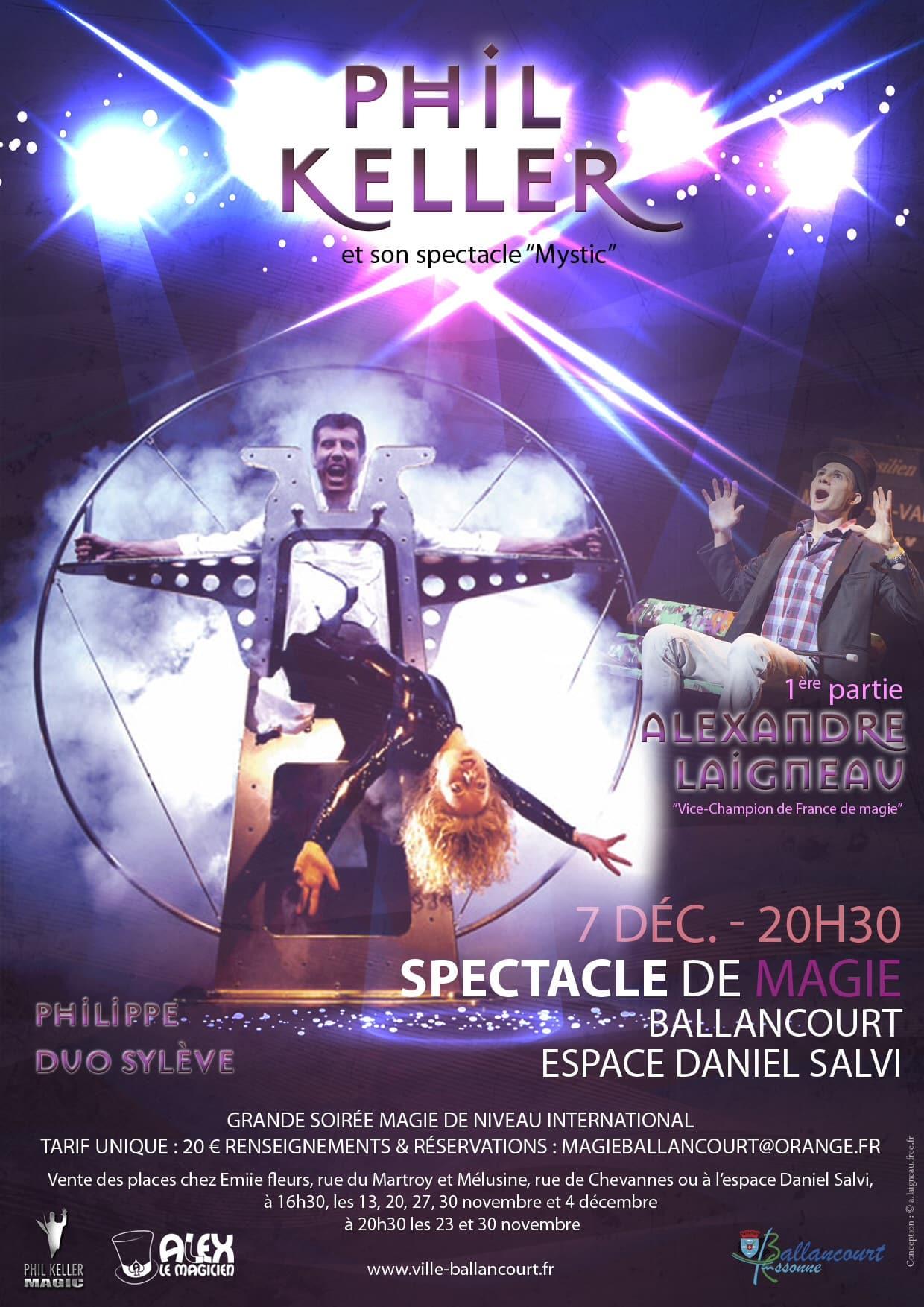 Spectacle international de magie à Ballancourt essonne