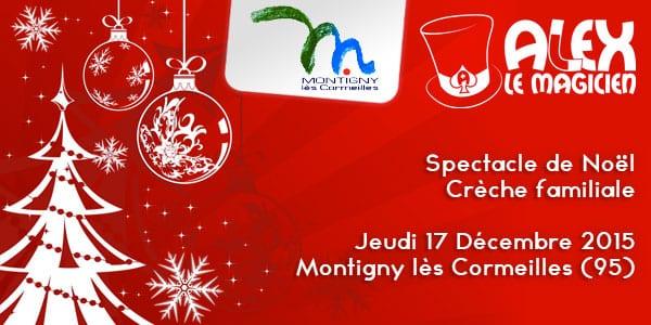 spectacle magie noël enfant Montigny 95