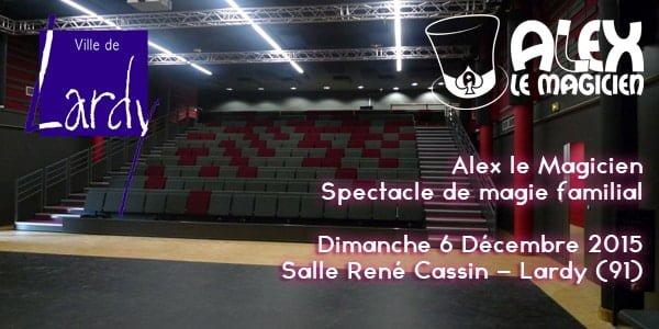 Selfi Alex le magicien Lardy René Cassin Magie