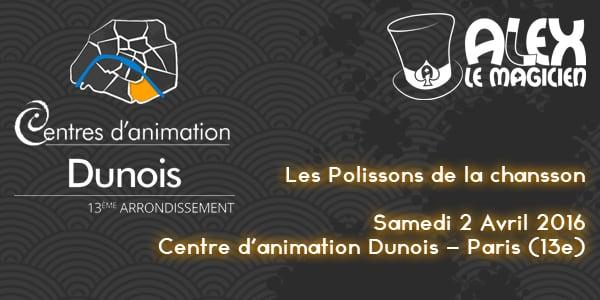 polissons de la chansson centre animation dunois paris 13