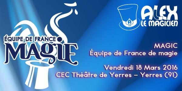 spectacle CEC theatre yerres magie equipe de france