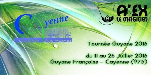 Magicien Guyane cayenne 973 spectacle de magie