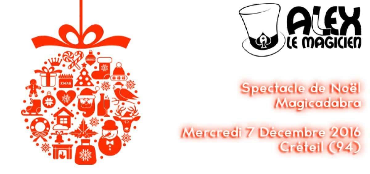 Spectacle noel magicadabra magicien creteil 94 DDCS