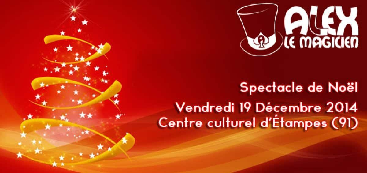 Centre culturel d'étampes 91 spectacle de magie