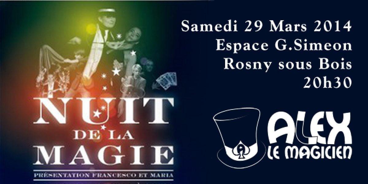 Nuit de la magie Rosny sous Bois équipe de france