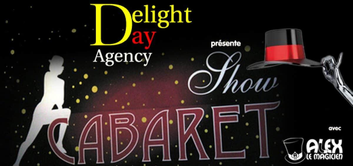 delight day agency - alex le magicien - reveillon soirée cabaret
