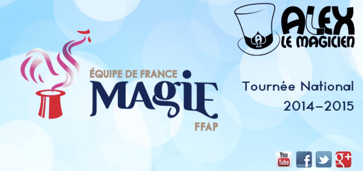 équipe de france de magie ffap spectacle tournée national