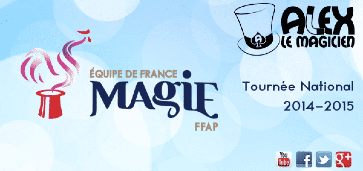 équipe de france de magie ffap spectacle tournée national