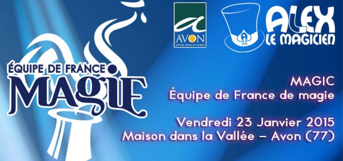 magic équipe de france de magie maison dans la vallée Avon 77