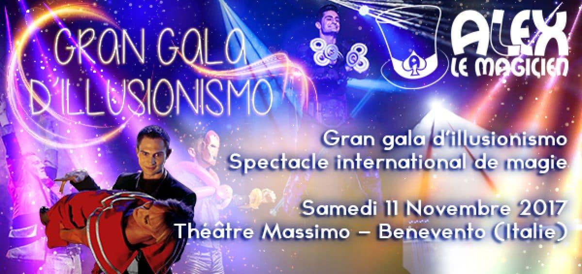 gran gala illusionismo benevento italie mago