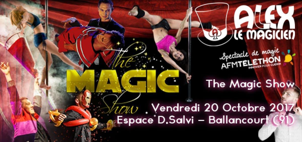 the magic show ballancourt telethon