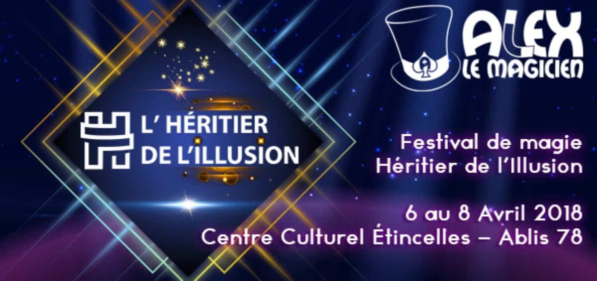 heritier illusion festival de magie ablis 78