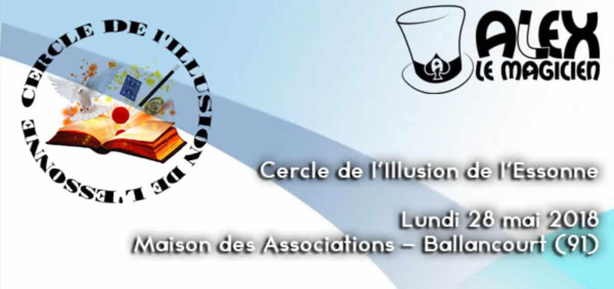 Cercle de l'Illusion de l'Essonne Ballancourt club de magie