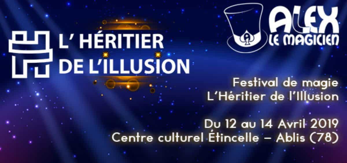 festival de magie Paris Héritier de l'Illusion