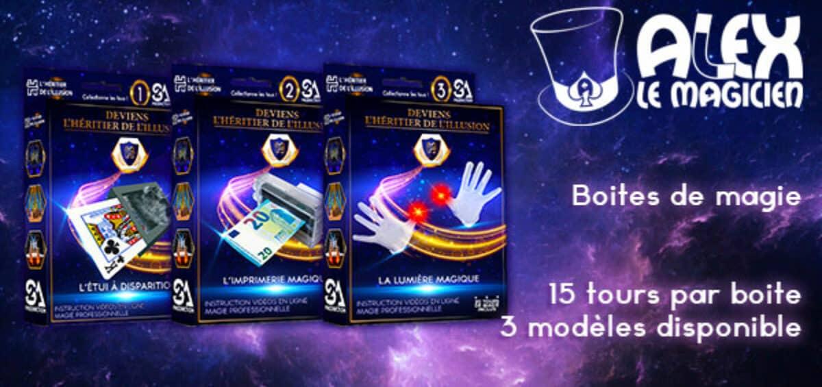 boite de magie pour enfant