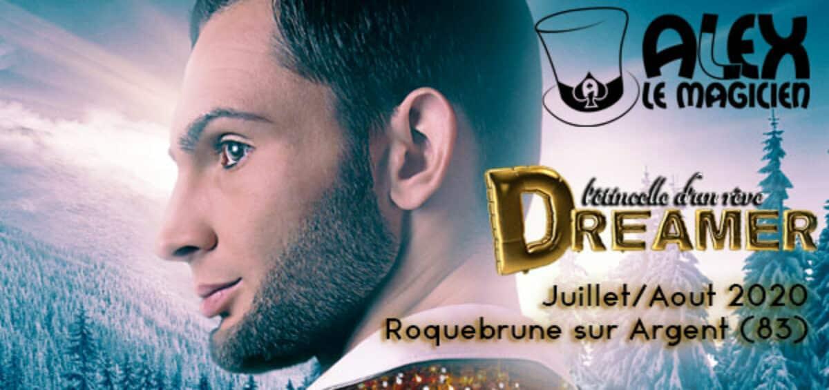 spectacle Roquebrune sur argent magie Domaine Bergerie